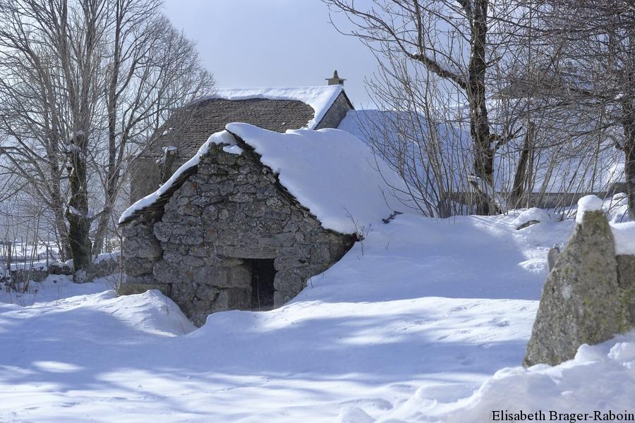 Habitat traditionnel du Mont Lozère