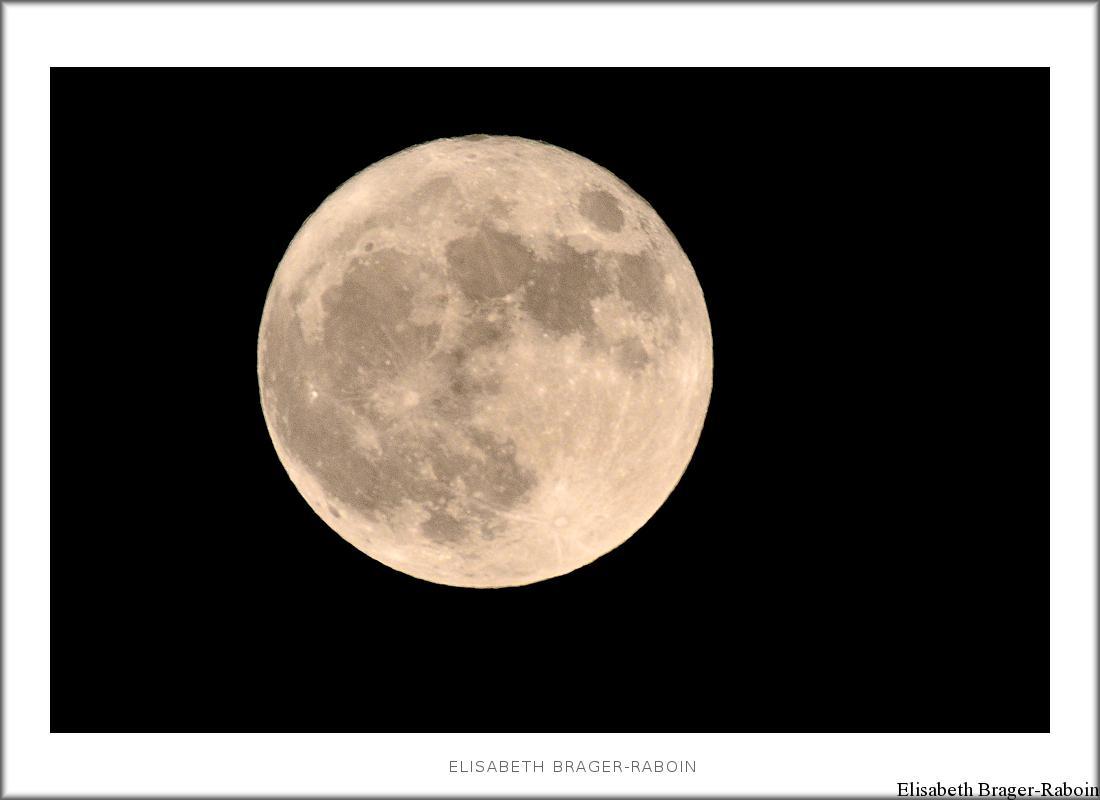 La super lune du 14 novembre 2016