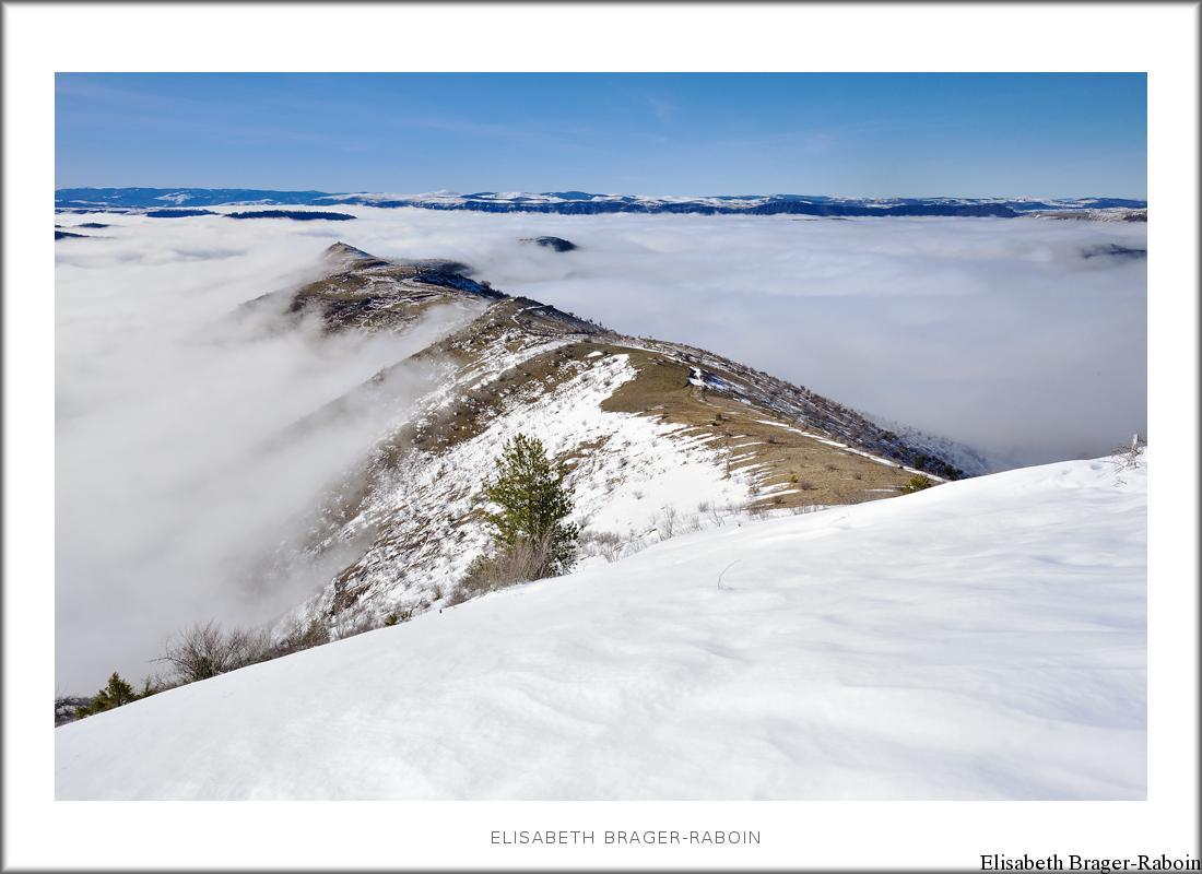 Mer de nuages à la cham des Bondons