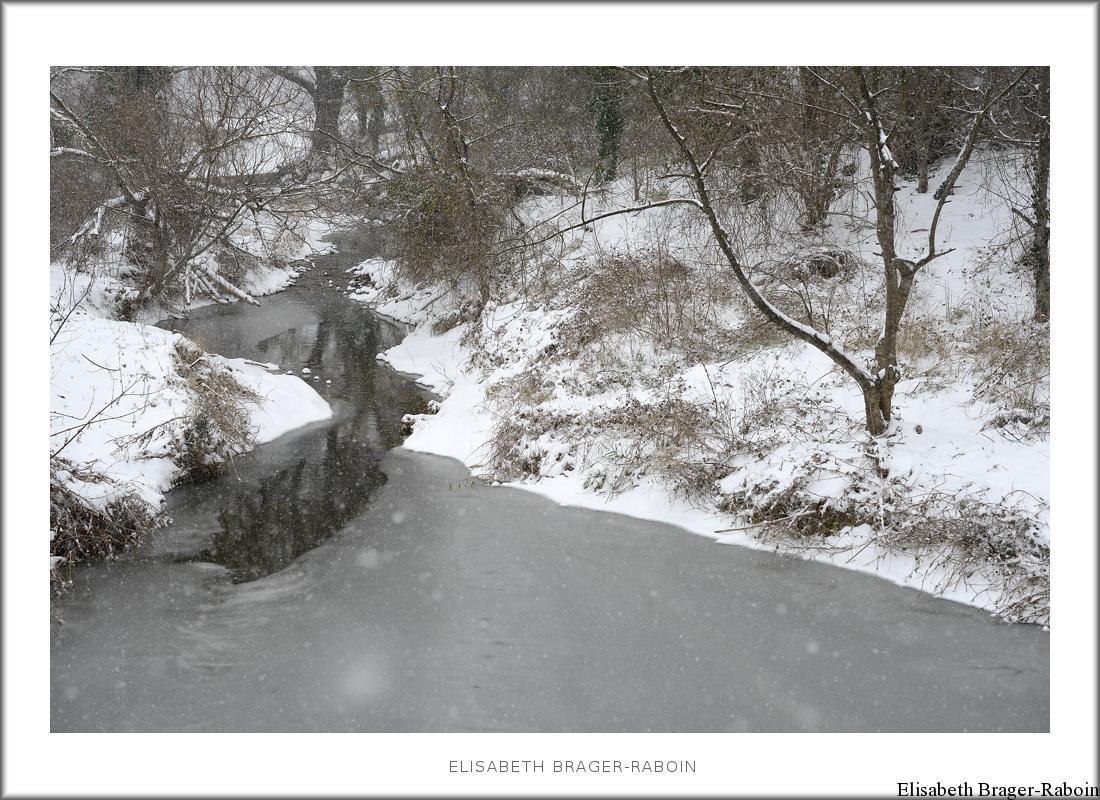 Neige sur le Carriol